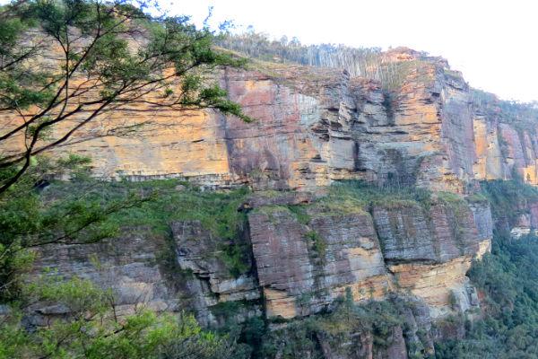 טיול בהרים הכחולים, אוסטרליה