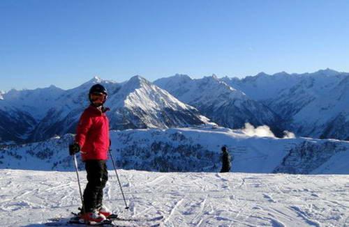 פסגת אזור הסקי הורברג, מאיירהופן, אוסטריה