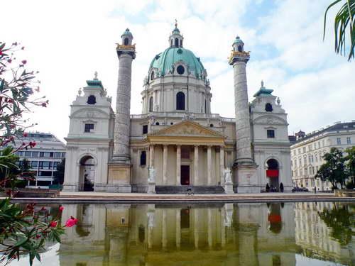 כנסיית סנט צ'ארלס בורמאו, וינה, אוסטריה