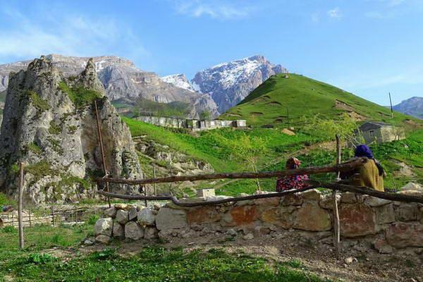 הרי הקווקז, אזרבייג'אן