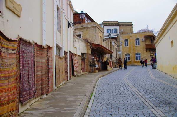 העיר העתיקה של באקו, אזרבייג'ן