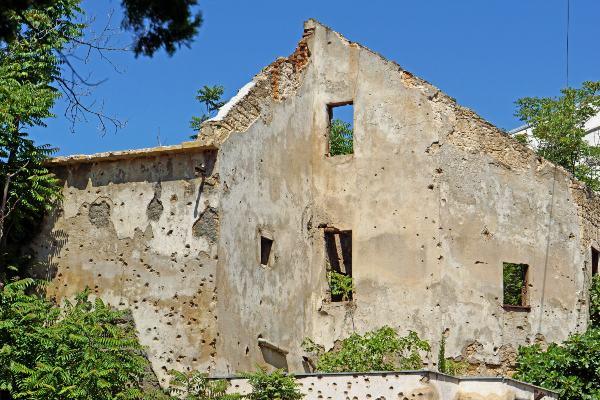 הכפרים ההרוסים מעידים על ארץ מורכבת, בוסניה והרצגובינה