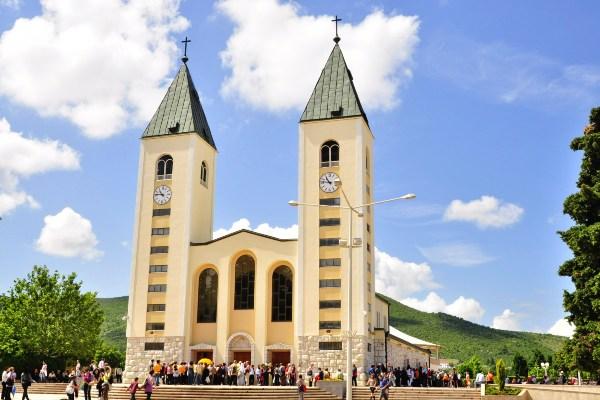 הכנסייה במדז'וגורייה, אתר עלייה לרגל לעולם הקתולי