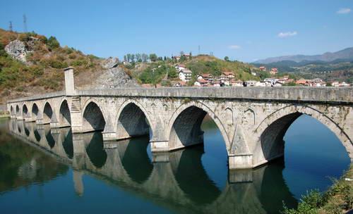 בוסניה, סרפסקה, וישגראד, הגשר על הדרינה