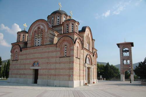 בוסניה, סרפסקה, טרבינייה, כנסיית גראצ'אניצה