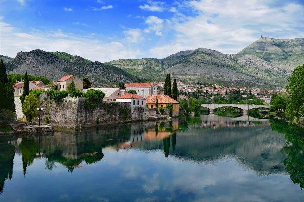 העיירה טרבינייה, בוסניה והרצגובינה