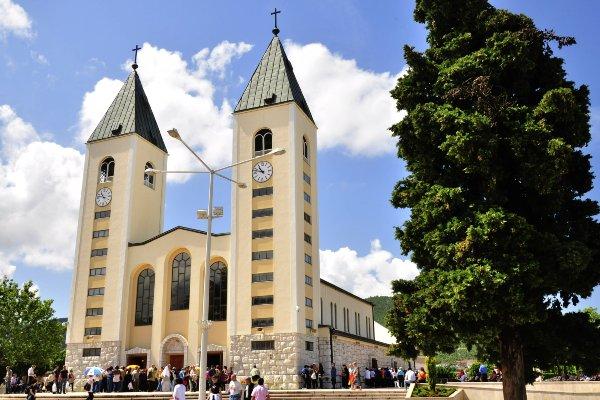 הכנסייה במדז'וגורייה, בוסניה והרצגובינה