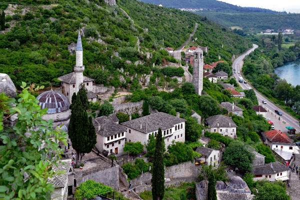 העיירה פוצ'יטלי, בוסניה והרצגובינה
