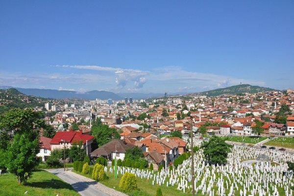 בית קברות בסרייבו, בבוסניה והרצגובינה