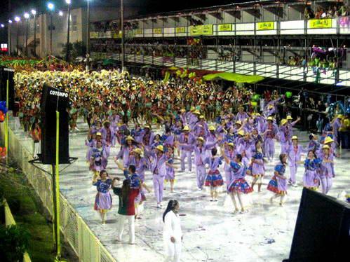 מצעד בתי הספר לסמבה, קרנבל, ברזיל