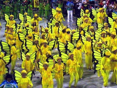 רקדנים, קרנבל, מצעד בתי הספר לסמבה, ברזיל