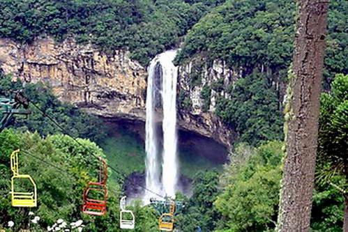 מפל החילזון, העיירה קנלה, רכבל, ברזיל