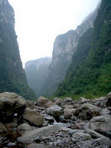 קניון דו-איטימבזיניו, דרום ברזיל