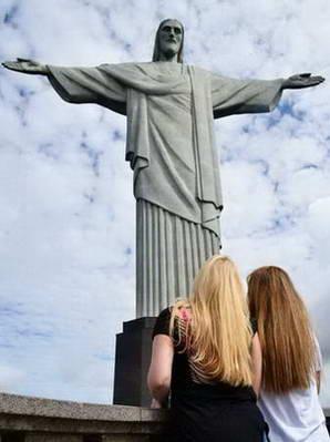 פסל ישו המושיע על הר קורקובדו