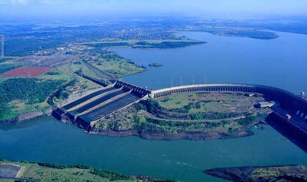 סכר איטייפו, ברזיל