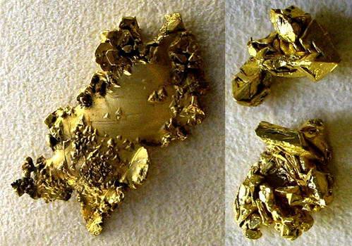 גבישי זהב, חיפוש זהב, ברזיל