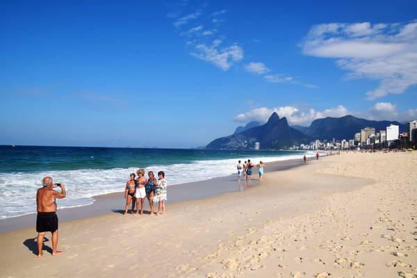 חוף איפנמה, ריו, ברזיל GOTRAVEL