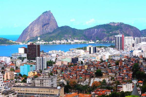 פאבלה והר הסוכר, ריו דה ז'ניירו, ברזיל