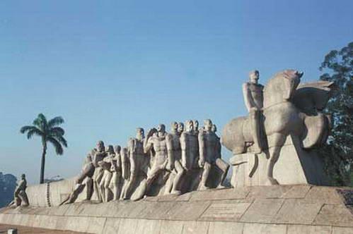 פסל הבנדרטס מחפשי הזהב, סאו פאולו, ברזיל