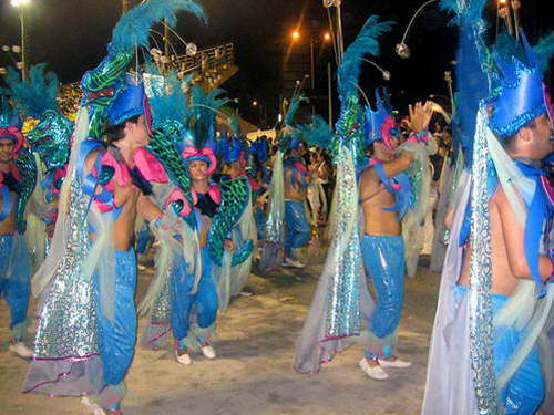 תלבושות בקרנבל, הקרנבל בפלוריאנפוליס, ברזיל