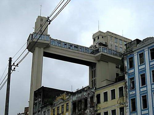 מעלית לסרדה, החיבור בין העיר העלית לתחתית, סלבדור דה באהייה, ברזיל