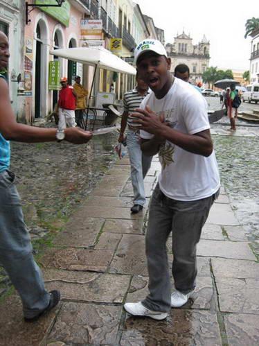 סמבה ברחובות סלבדור, סלבדור דה באהייה, ברזיל