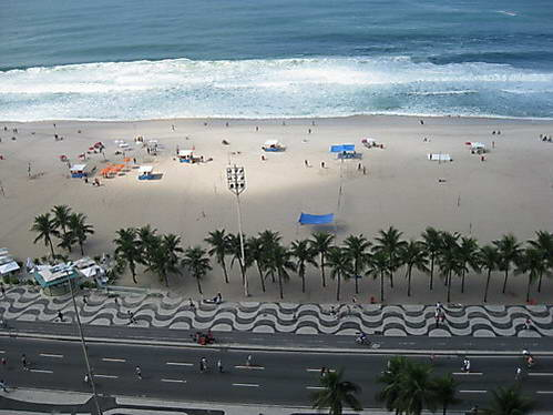 חוף קופקבנה, ריו דה ז'ניירו, ברזיל