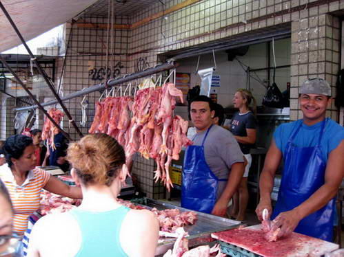 חנות בשר, ריו דה ז'ניירו, ברזיל
