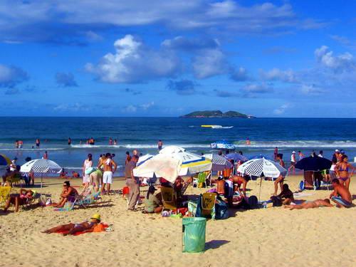 חוף בריו, חוף הים בברזיל