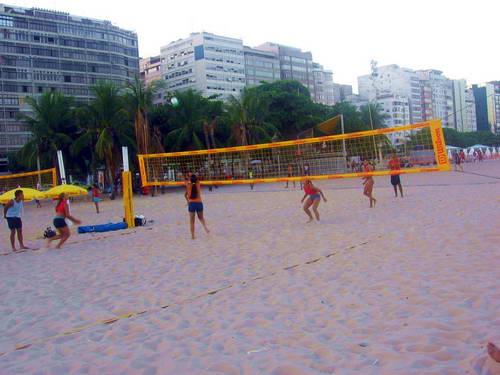 כדורעף חופים בברזיל, חוף קופקבנה בריו דה ז'ניירו
