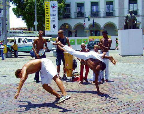 רקדני קפוארה בסלבדור, ברזיל