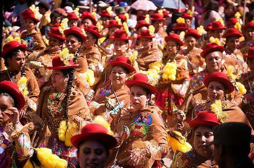פסטיבל השטן, רקדנים בקרנבל השטן באורורו בבוליביה