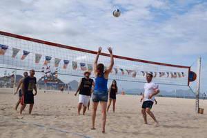 כדורעף בחוף קופקבנה, ריו