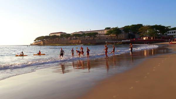 שחייה בחוף קופקבנה, ריו