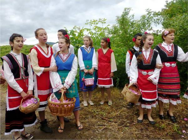 עמק הוורדים בולגריה