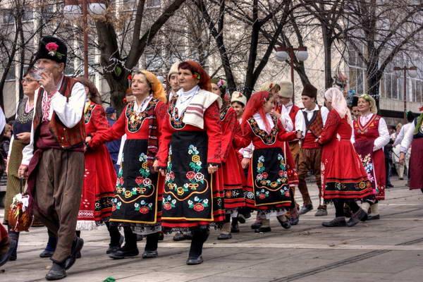 פסטיבל בבולגריה בחורף