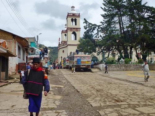 קולומביה, השוק בכפר סילביה