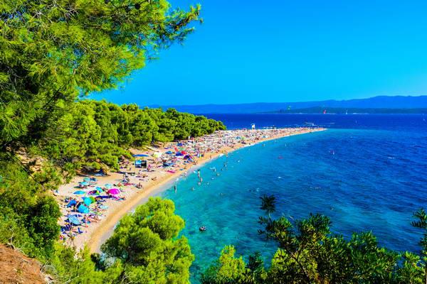 האי בראץ, הריביירה של קרואטיה