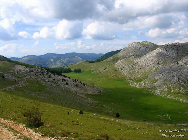 רכס דינארה, האלפים הדינאריים, קרואטיה