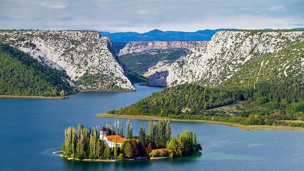 נהר קרקא, קרואטיה