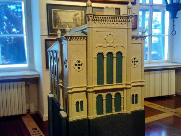 דגם בית הכנסת של זאגרב, שריד יחיד לקהילה היהודית לפני השואה