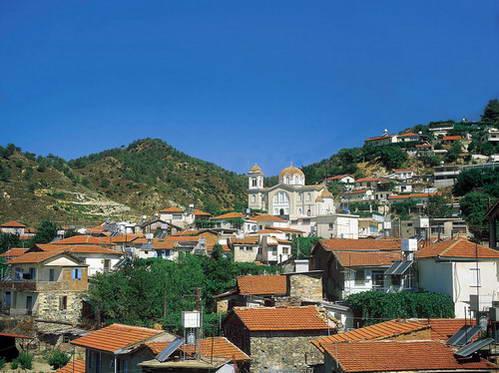 הכפר קקופטריה שבהרי הטרודוס