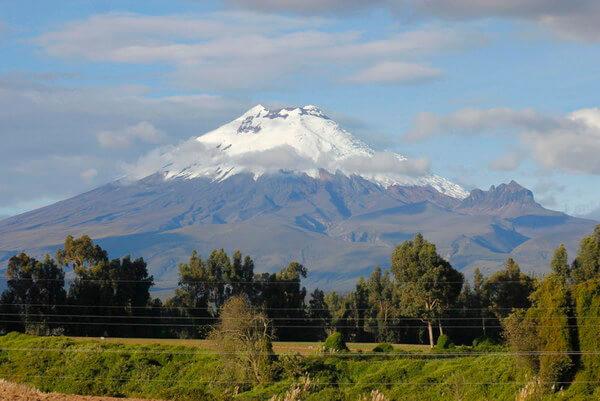 הר הגעש קוטופקסי, אקוודור