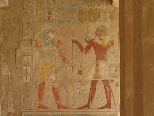 מקדש חתשפסות, מצרים