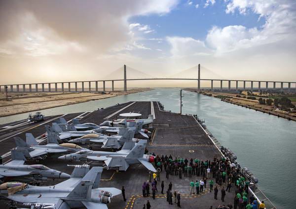 תעלת סואץ, מצרים
