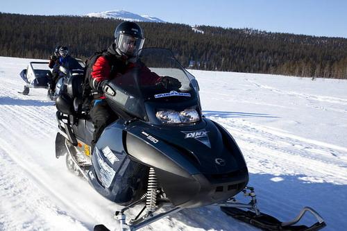 לפלנד, אופנועי שלג