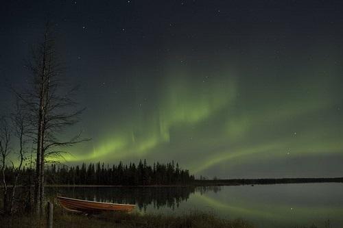 פינלנד, זוהר הצפון