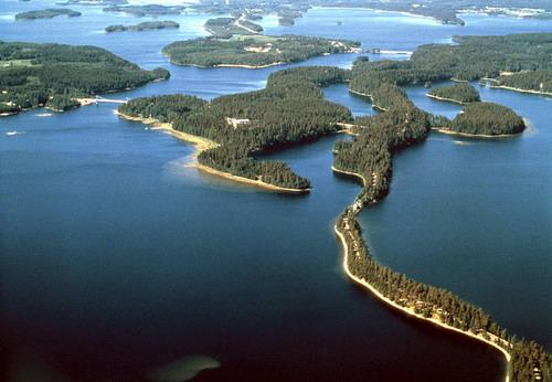 פינלנד, ארץ האגמים