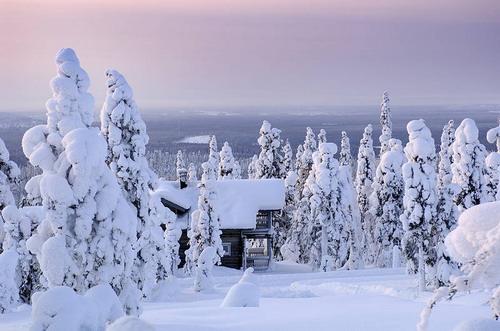 פינלנד, נופים מושלגים