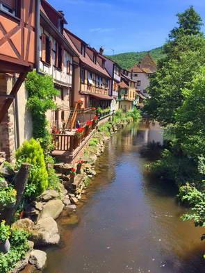 כפרים על דרך היין של אלזס, צפון צרפת